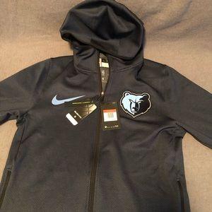New Nike Dri fit Memphis Grizzlies full zip hoodie